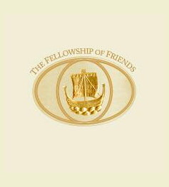 Robert Earl Burton's Fellowship of Friends Living Presence cult logo, Apollo, Oregon House, CA