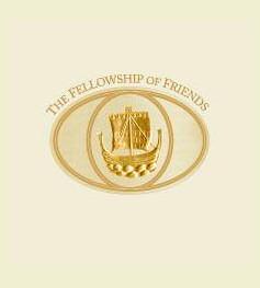 Robert Earl Burton's Fellowship of Friends Living Presence cult logo, Apollo, Oregon House, CA