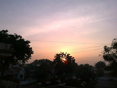 Image showing beautiful sunrise expressing the poem When the Mind Whispers with The Heart in Beautiful Morning