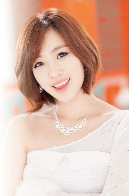 Tags: k-pop, t-ara, ham eunjung, black eyes, short hair