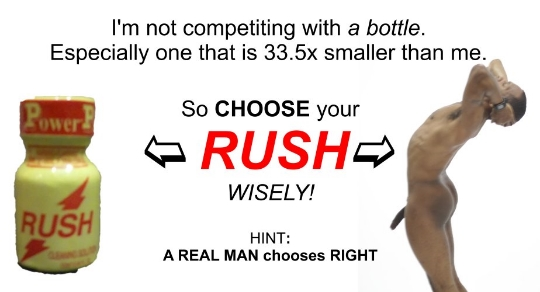 Choose Your RUSH Wisely