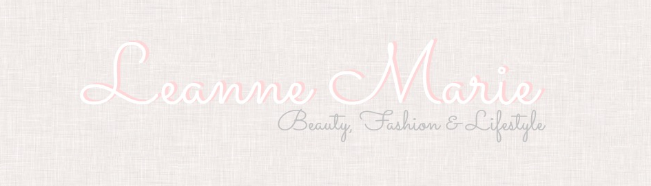 Leanne Marie. | A beauty, Fashion & Lifestyle blog.