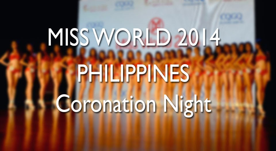 2014 Miss World Philippines Awards Night