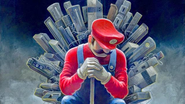 Mario - in the Game of Thrones