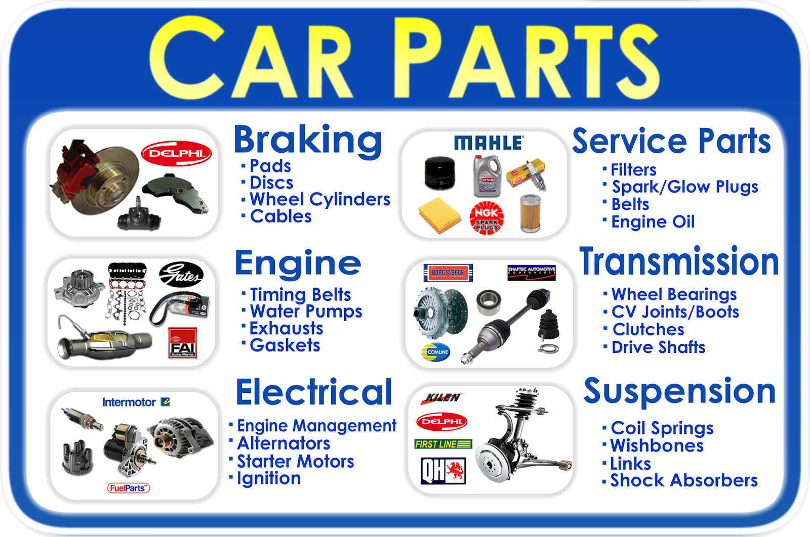 Body Parts For Japanese Cars