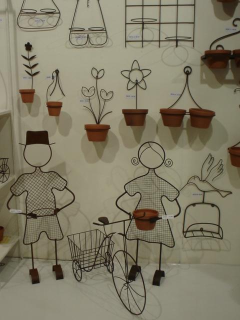 objetos decoracao jardim : objetos decoracao jardim:Artesania: PEÇAS EM FERRO PARA DECORAÇÃO E JARDIM.