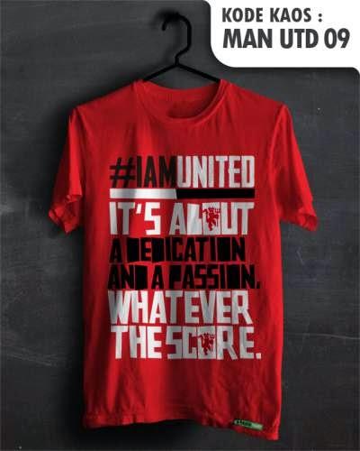 kaos distro bola manchester united 09