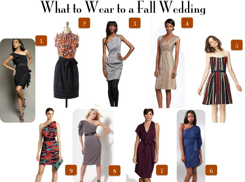 Wedding Decoration What To Wear To An Outdoor Fall Wedding