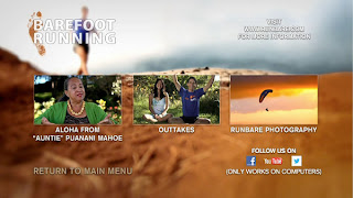 barefoot running menu