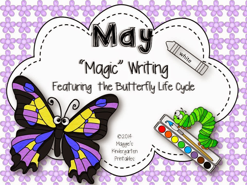 https://www.teacherspayteachers.com/Product/May-Magic-Writing-Activities-featuring-the-Butterfly-Life-Cycle-1217721