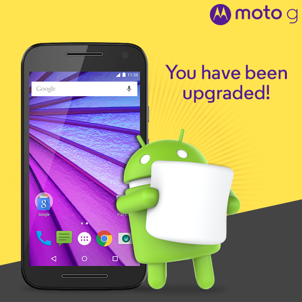 Motorola Releases Android 6.0 Update For 2015 Moto G In India