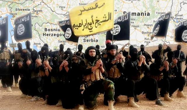 ISIS fton Serbinë në Koalicion