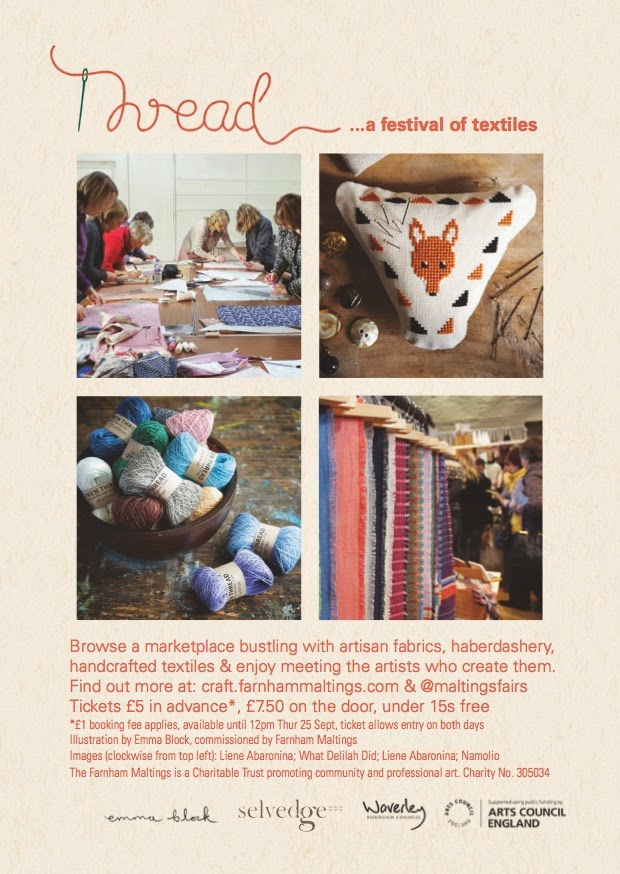 Thread at Farnham Maltings 26th and 27th September
