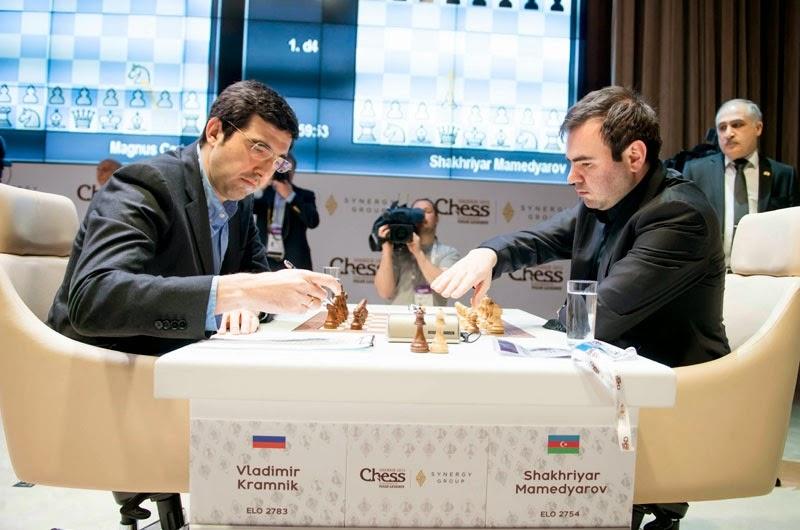 Shamkir Chess 2015. Mamedyarov - Kramnik