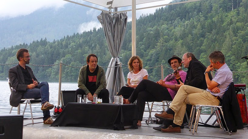 Panel de discussion @ More Ohr Less Festival 2014 / photo S. Mazars