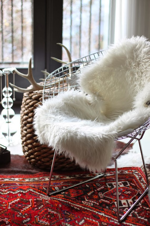 Alamodeus faux fabulous for Fur carpet ikea