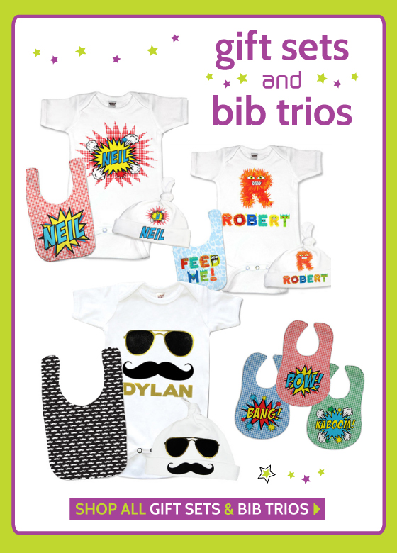 Personalized Baby Gift Sets