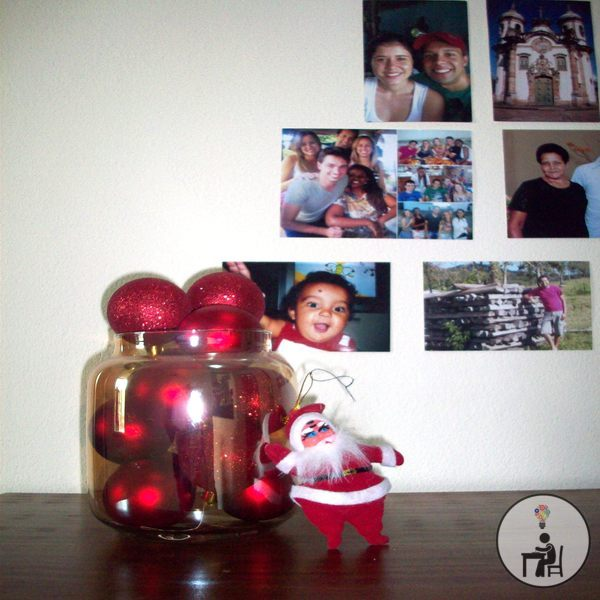 dica simples, decoração de natal, segunda natalina, atelier wesley felicio, artesanato, crafts, handmade, feito à mão, arteirices, papai noel, natal, merry christmas