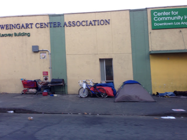 homeless DTLA |Surprising Sights in a Developed Country|