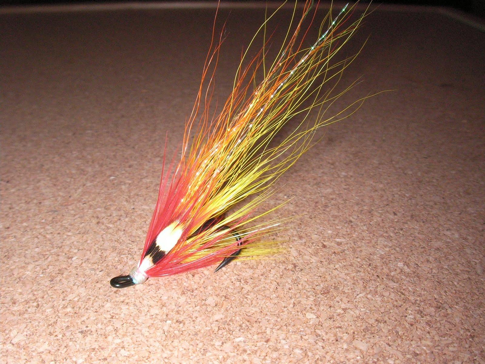 Salmon fly flamethrower salmon flies for Salon fly