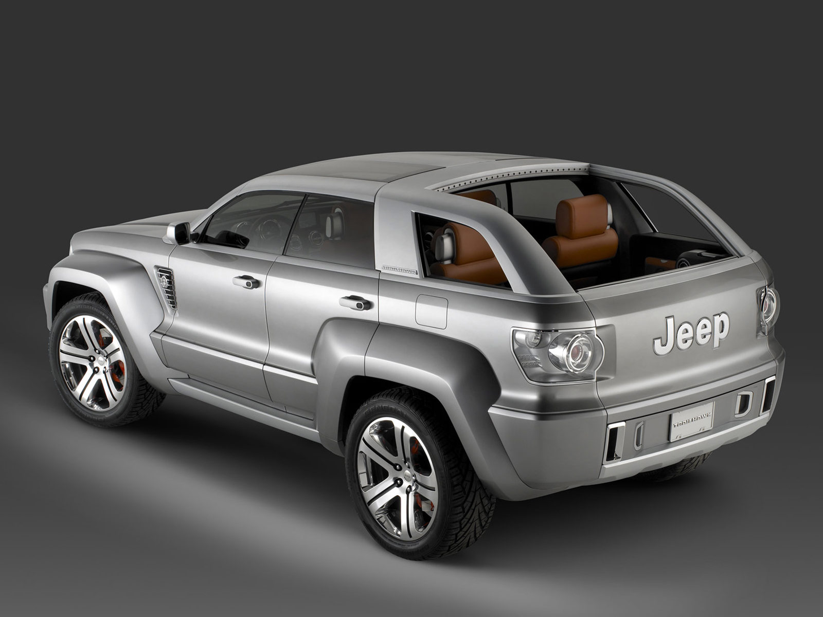 2007 Jeep Trailhawk Concept Download Gambar Mobil