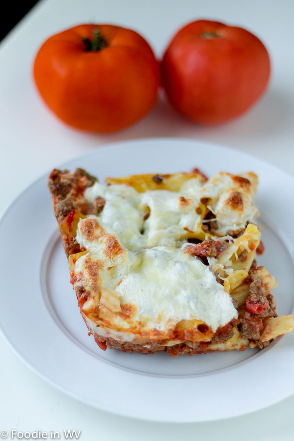 Click for Recipe for Baked Rigatoni