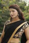 Sagarika glamorous photos in saree-thumbnail-18