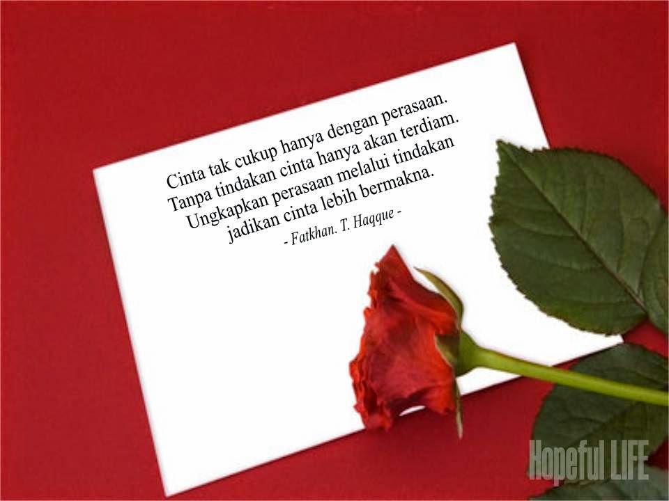 Contoh Surat Cinta untuk Kekasih