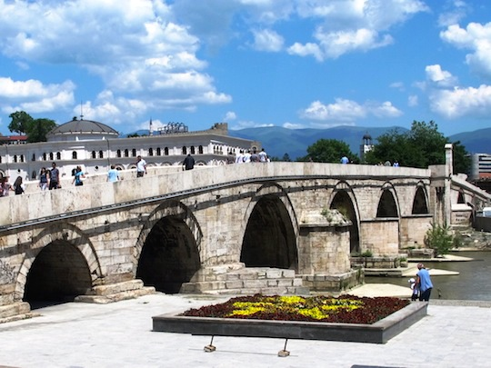 The Stone Bridge Skopje