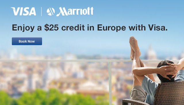 歐洲萬豪酒店入住2晚,送US$25餐飲禮券,9月13日前適用。