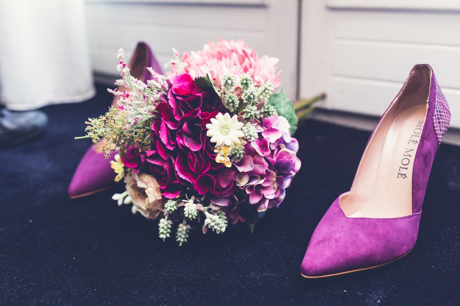 El ramo de novia y los zapatos de la boda - Made in Style