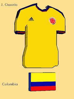 Colombia Soccer Jersey World Cup 2018