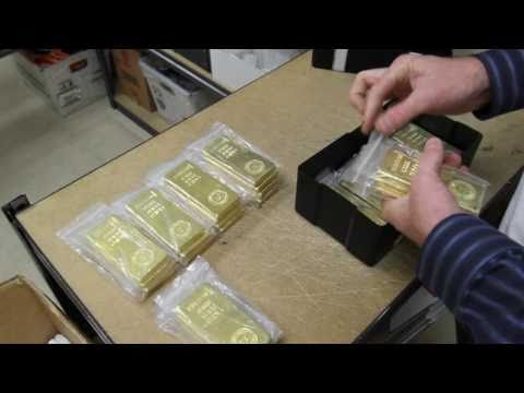 Goldbars Gold Bars Royal Canadian Mint 9999 Gold Bullion
