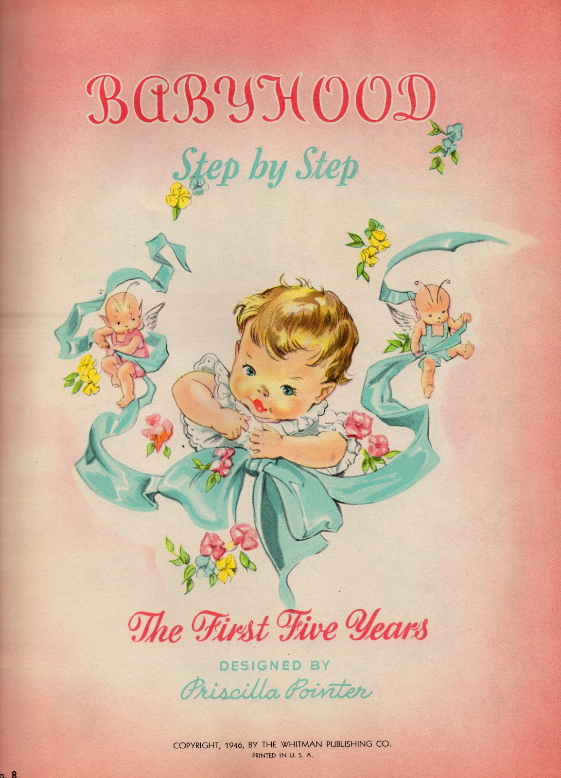 Vintage Baby Books 80