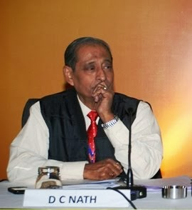 D C Nath, IPS (Retd.) President of Patriots Forum