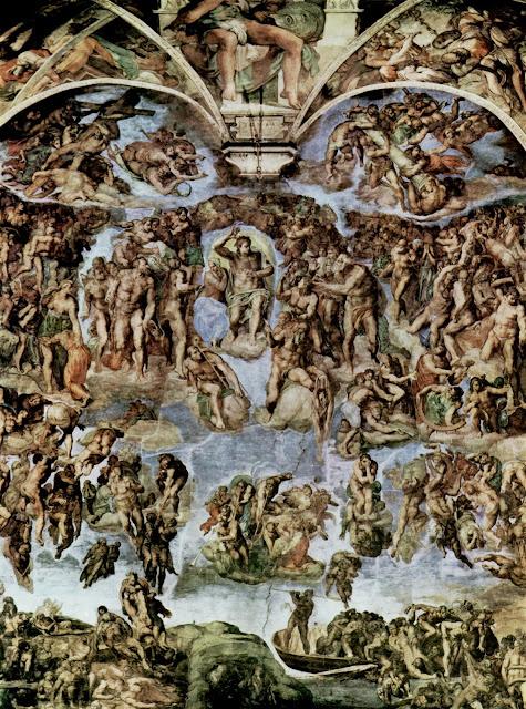 El juicio final de Miguel Ángel fue inspirado por Dante Agilleri.