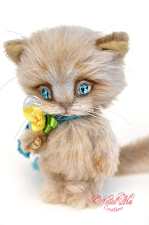 Artist teddy cat, teddy kitten, teddies with charm, NatalKa Creations, teddies, teddy cat, ooak kitten, handmade teddy, mohair teddy, Künstlerteddy, Teddybär, Teddy Kater, Unikat, авторский кот тедди, котенок тедди, кошка