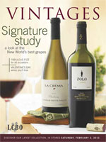 Cover photo of February 2, 2013 Vintages Magazine