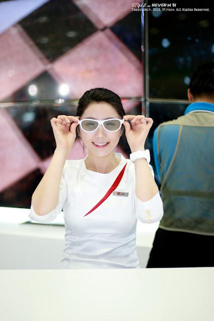 2 Kim Ha Eum - World IT Show 2012-very cute asian girl-girlcute4u.blogspot.com
