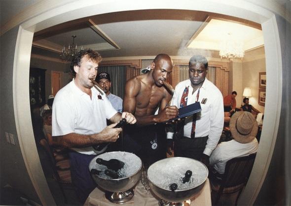 Fotos curiosas de Michael Jordan