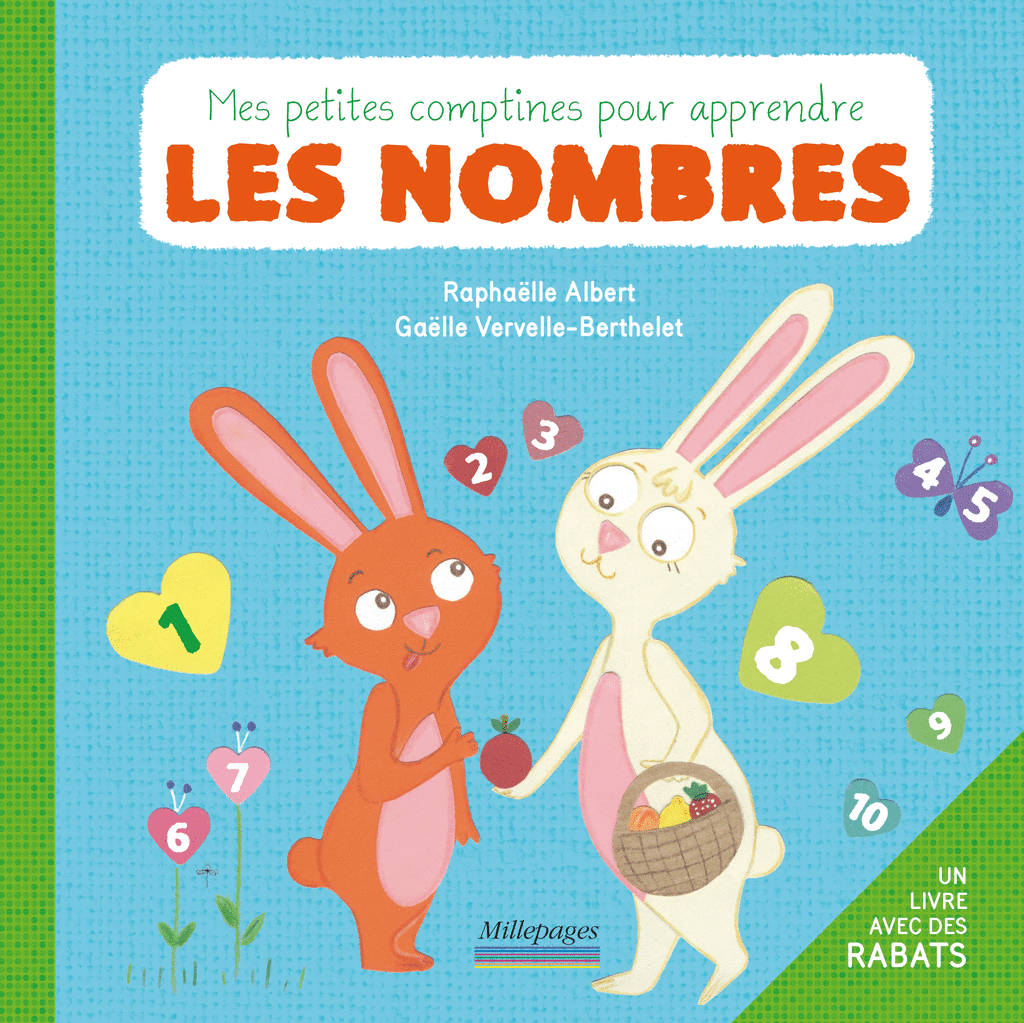 Mes petites comptines pour apprendre les nombres
