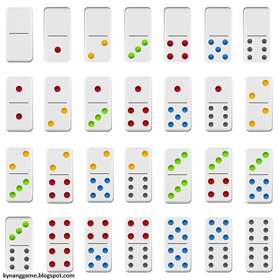 Giới thiệu các quân cờ Domino trong iwin online