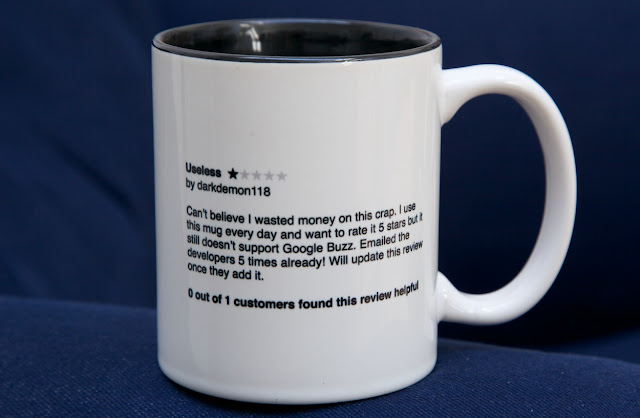 Useless, Customer Review Mug