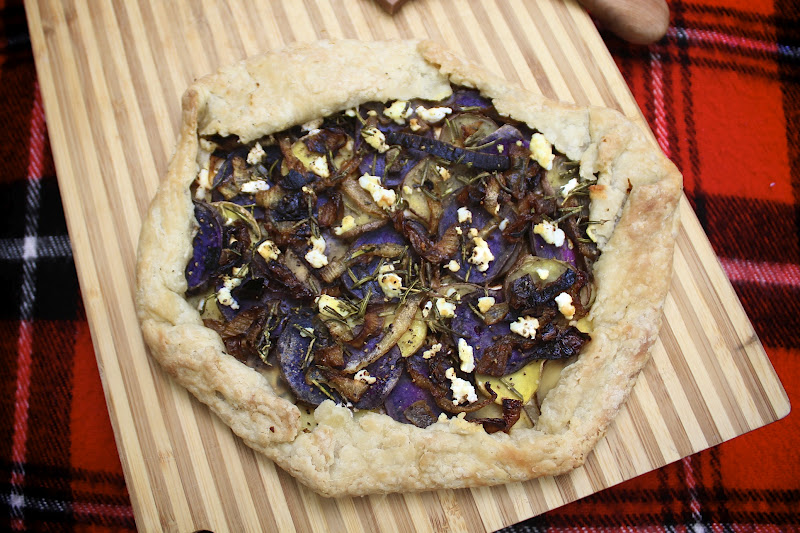 Purple Potatoes With Rosemary And Caramelized Onions Recipes ...