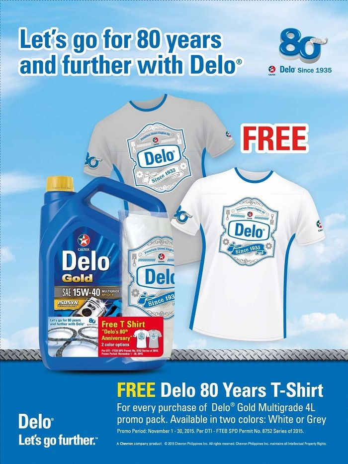 Delo 80th Anniversary Celebration Promo