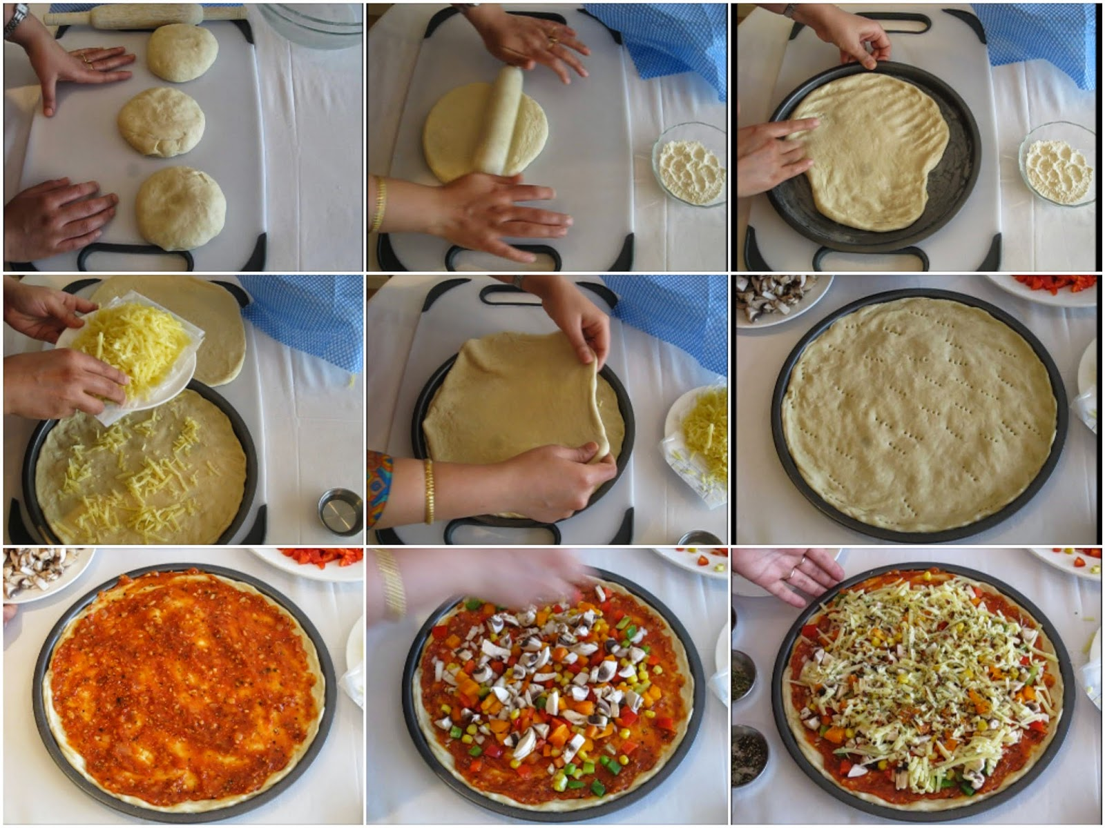 Cook with Priyanka: Cheese Burst Pizza (Domino's Style)