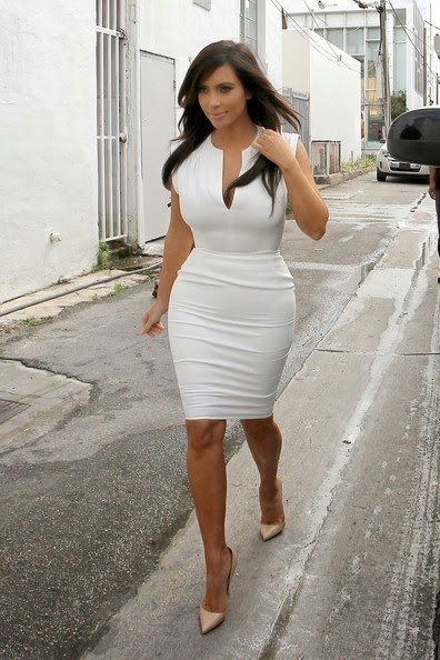 kim kardashian fashion cocktail dress