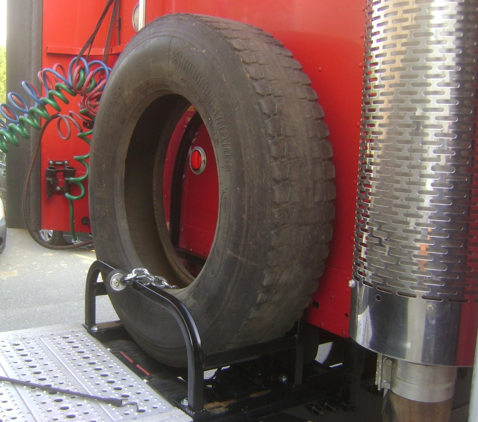 Truck Pipe Rack >> Truck Tire Carrier