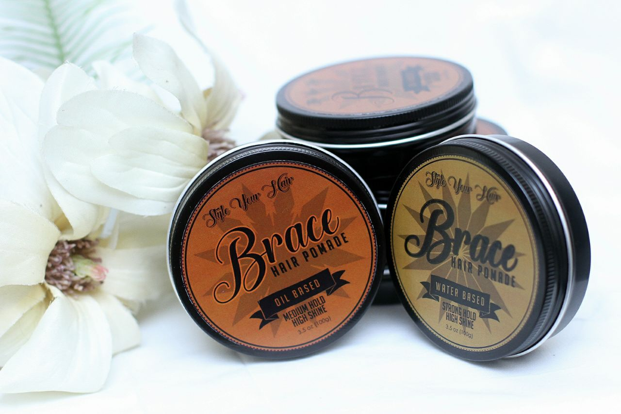 HOMEBREWED BRACE POMADE