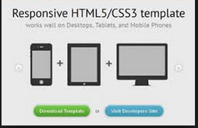 Introduction of css how to define and use in html example for Responsive stylesheet template
